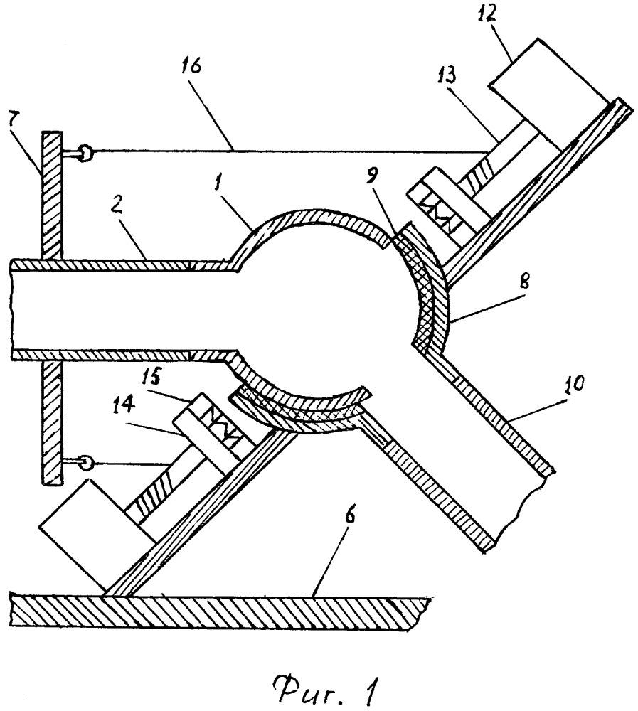Устройство для соединения трубопроводов под углом