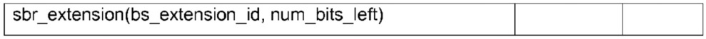 Декодирование битовых аудиопотоков с метаданными расширенного копирования спектральной полосы по меньшей мере в одном заполняющем элементе