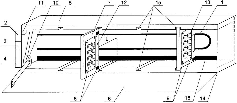 Устройство для хранения и идентификации перемещаемых объектов на космическом аппарате