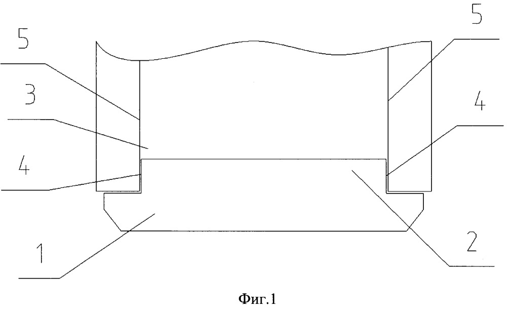 Оболочка электрошкафа с элементами конструкции