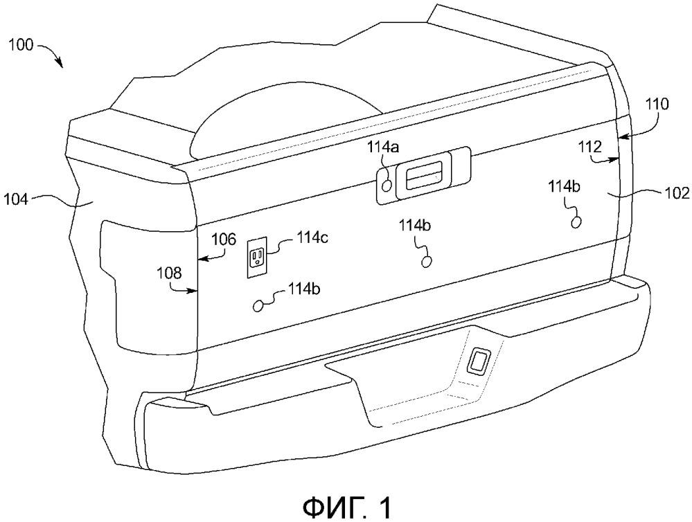Соединитель, изолятор и соединительный узел для заднего откидного борта транспортного средства