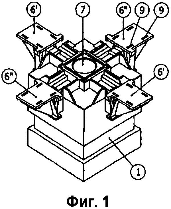 Подъемная система для тяжелых грузов