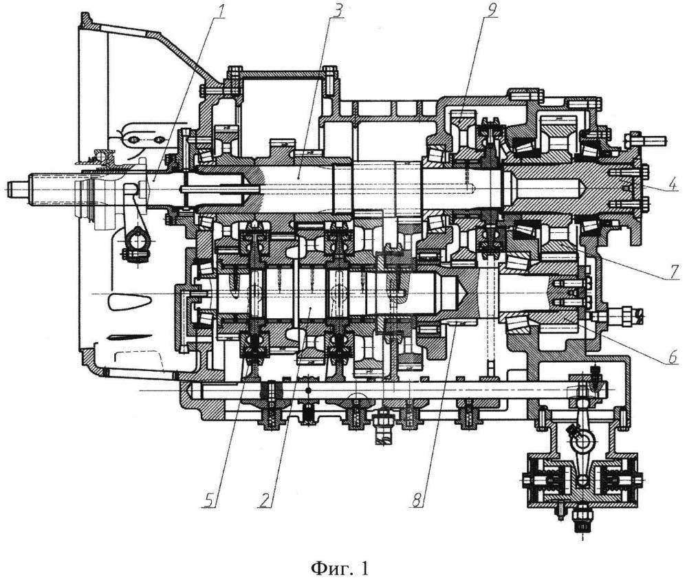 Коробка передач транспортного средства (варианты)