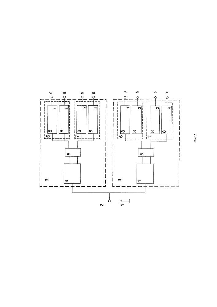 N-канальное электрическое частотно-избирательное устройство