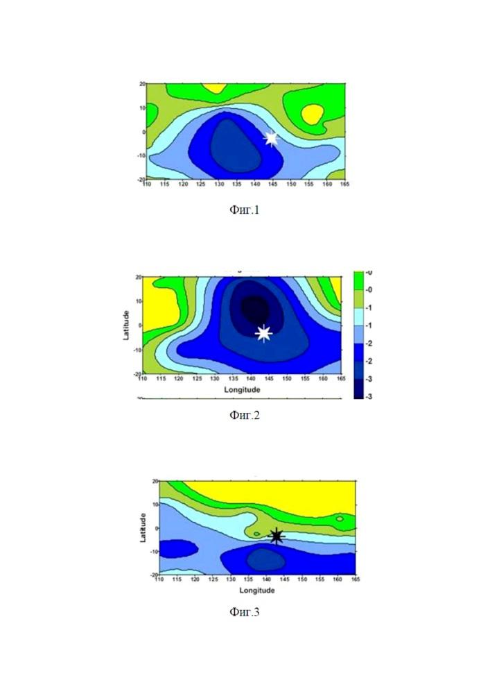 Способ идентификации ионосферных предвестников землетрясений по данным зондовых спутниковых измерений