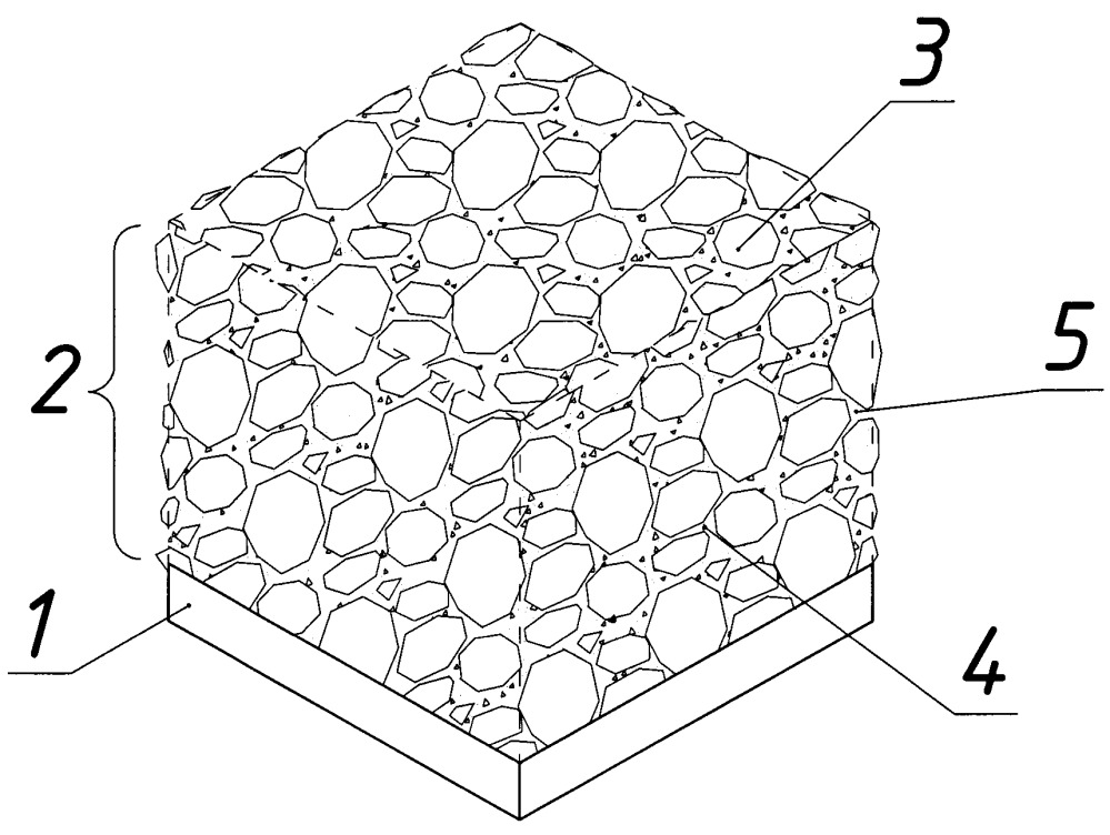 Способ изготовления двухслойных бетонных панелей