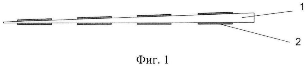Пьезоэлектрический полимерный датчик матричного типа