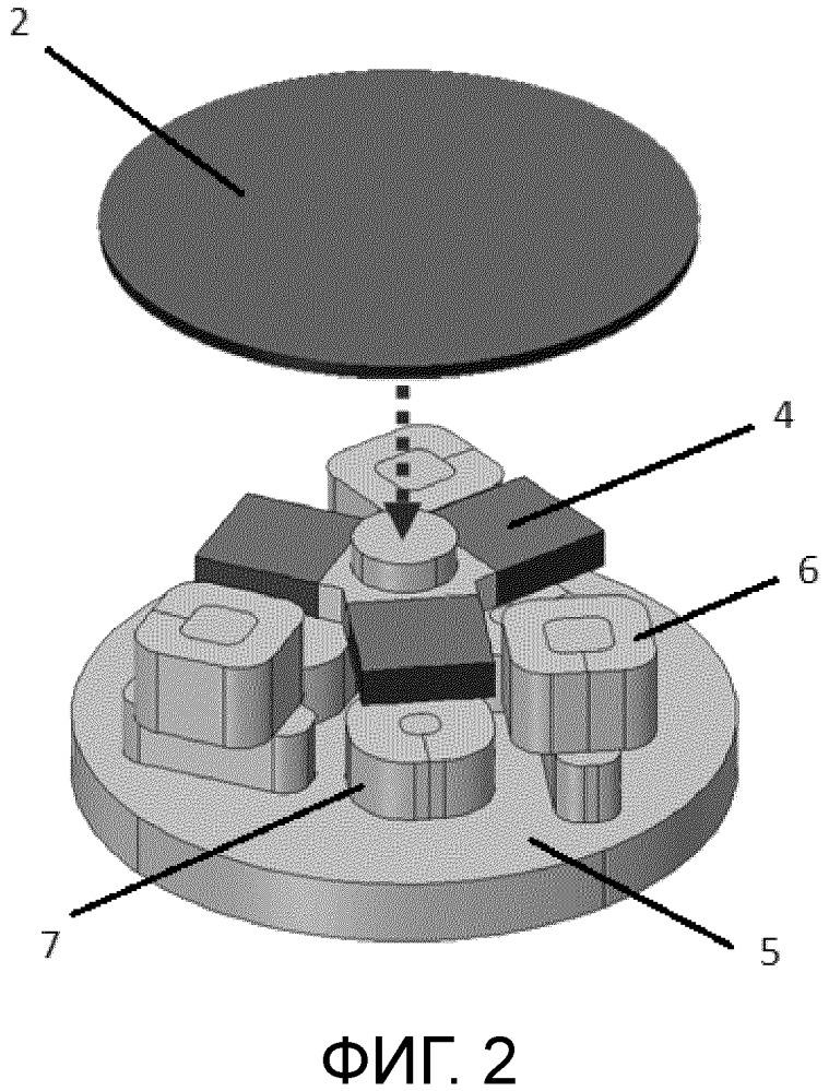 Система сканирования для лидара, основанного на отражателе с магнитной подвеской