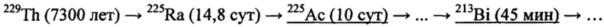 Способ получения актиния-225
