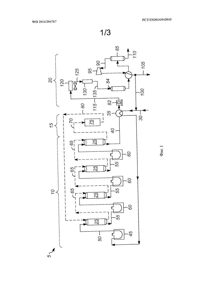 Способ высокотемпературного удаления следов хлоридных загрязнителей в способе каталитического дегидрирования