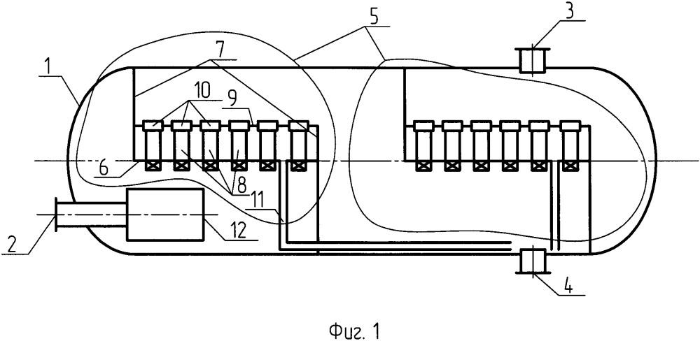 Сепаратор для очистки газа от примесей
