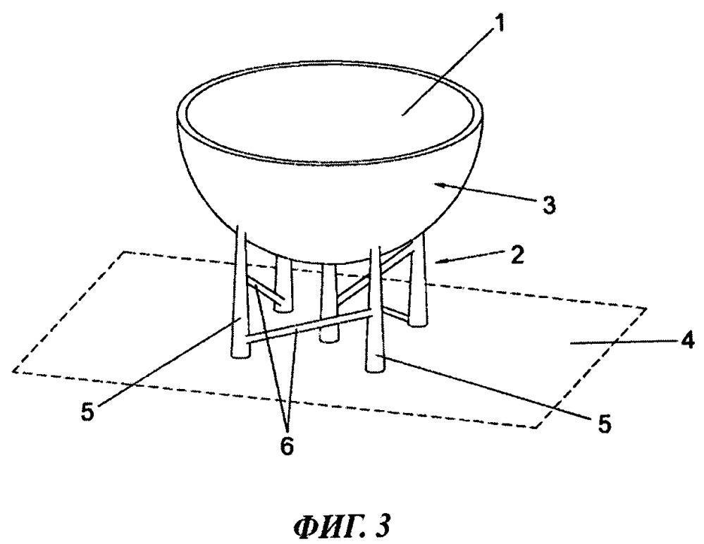 Способ и устройство для задания поддерживающей конструкции для трехмерного объекта, изготавливаемого посредством стереолитографии