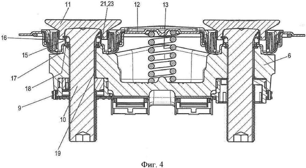 Дисковый тормоз для грузового автомобиля