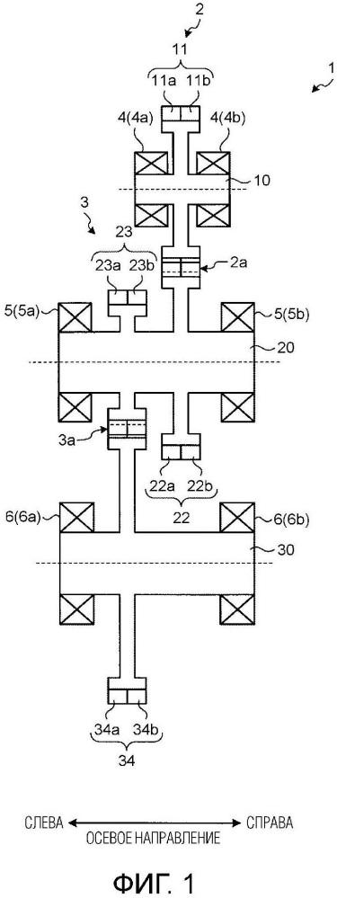 Механизм передачи мощности