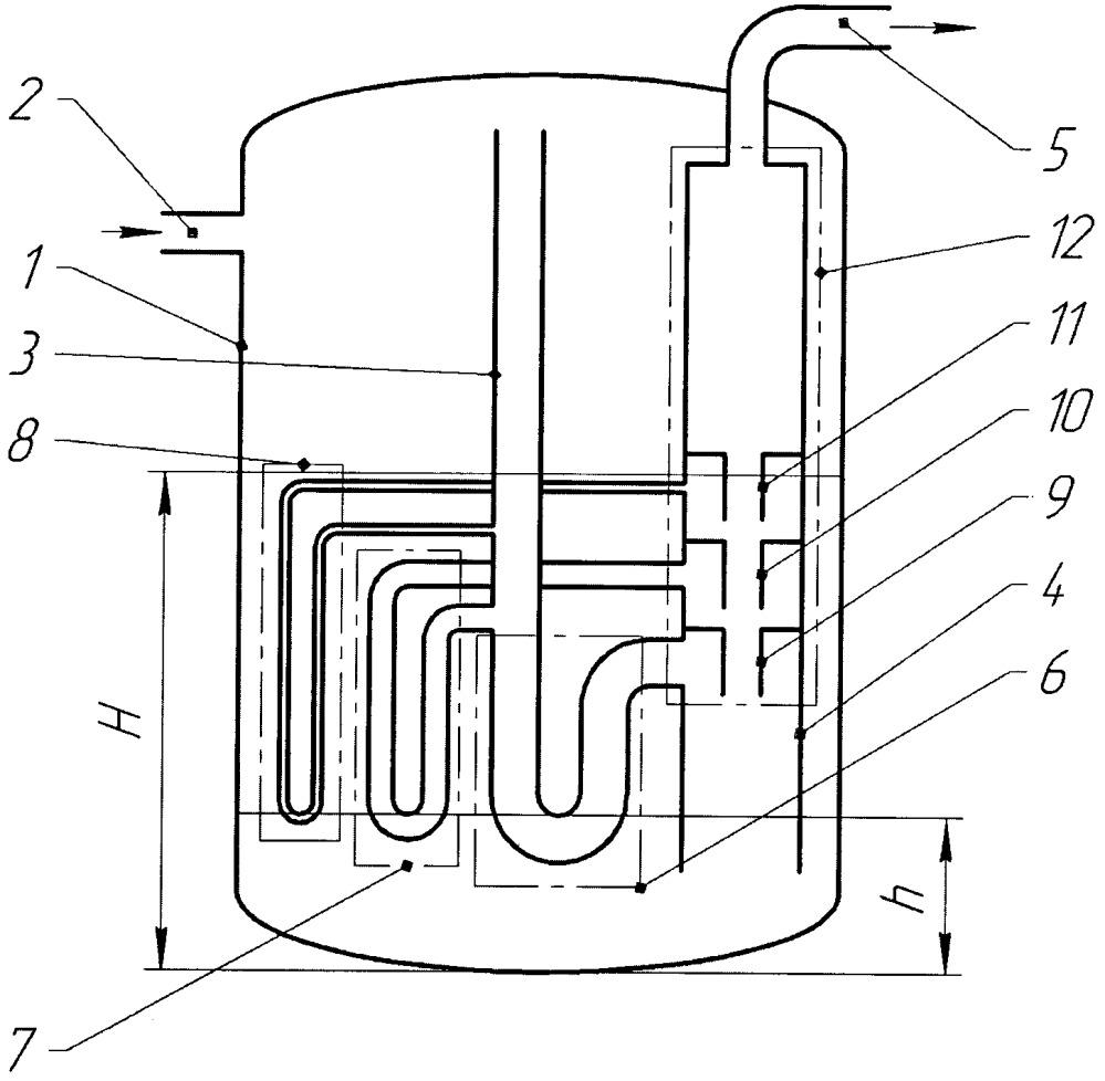 Устройство и способ регулирования уровня жидкости