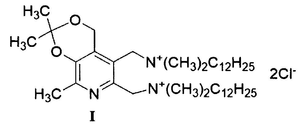 Четвертичная аммониевая соль, обладающая антимикотической и антибактериальной активностью