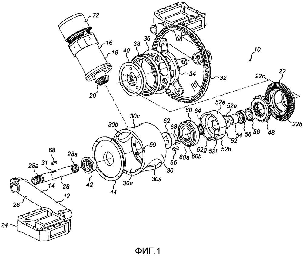 Система передач для велосипеда с двойным приводом