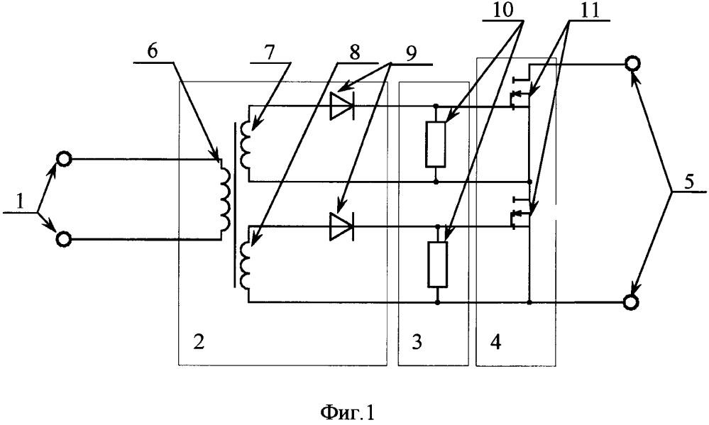 Унифицированный радиационно-стойкий модуль коммутатора нагрузок исполнительных каскадов приборов автоматики