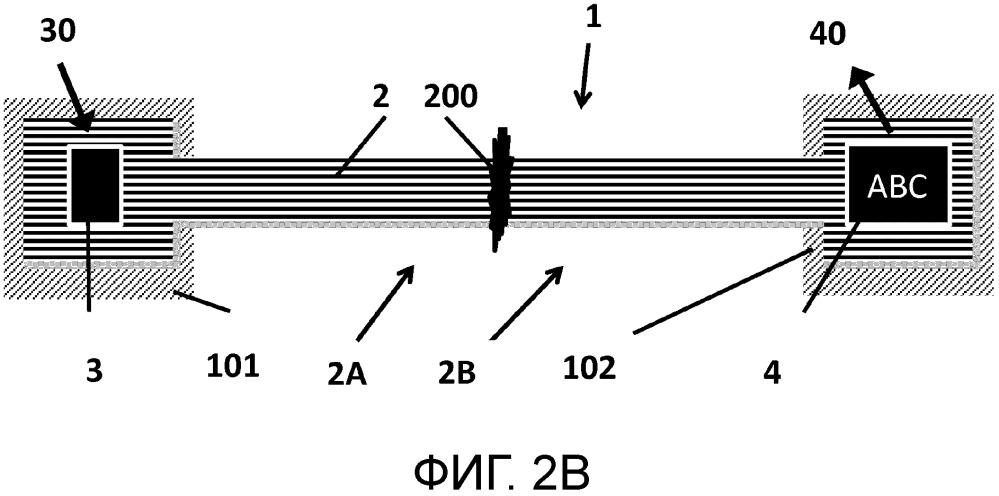 Световодная пломба с индикацией вскрытия