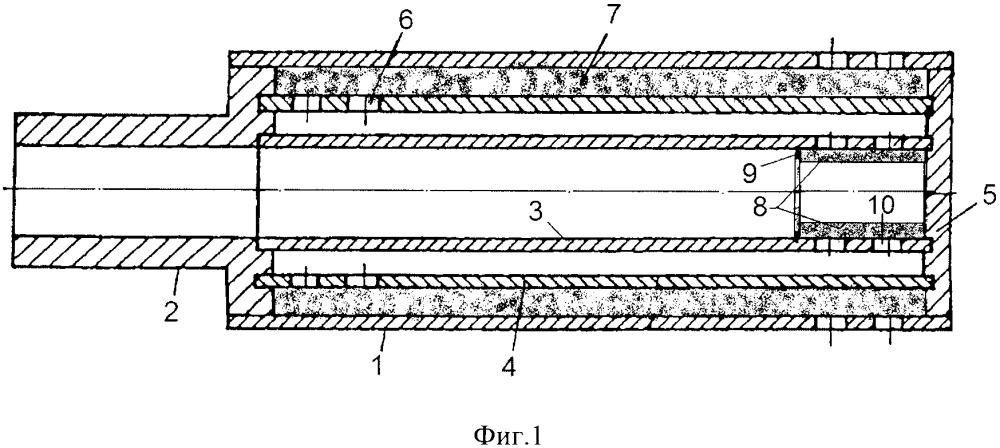 Глушитель шума многосекционный