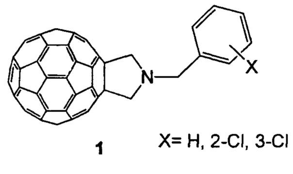 Способ селективного получения 2,5-незамещенных 1-бензилпирролидино[3,4:1,9](c60-ih)[5,6]фуллеренов