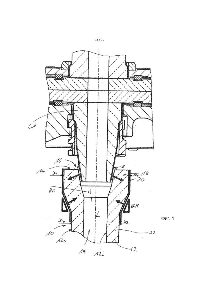Огнеупорный керамический разливочный литейный стакан