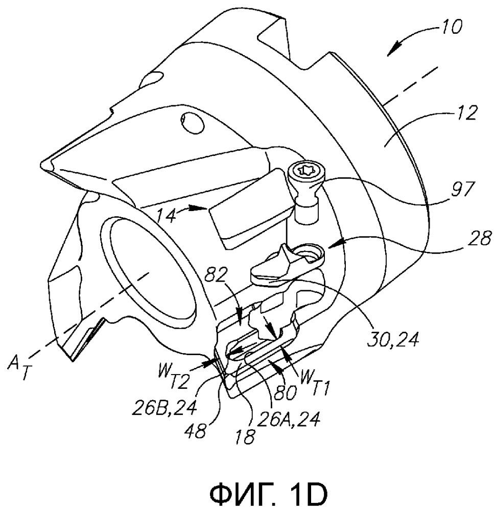 Режущая пластина, имеющая устройство противоскольжения в форме ласточкина хвоста