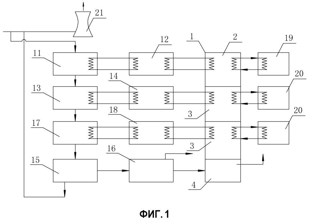 Способ и устройство для использования избыточного тепла от топочного газа электростанции для высушивания топлива из биомассы