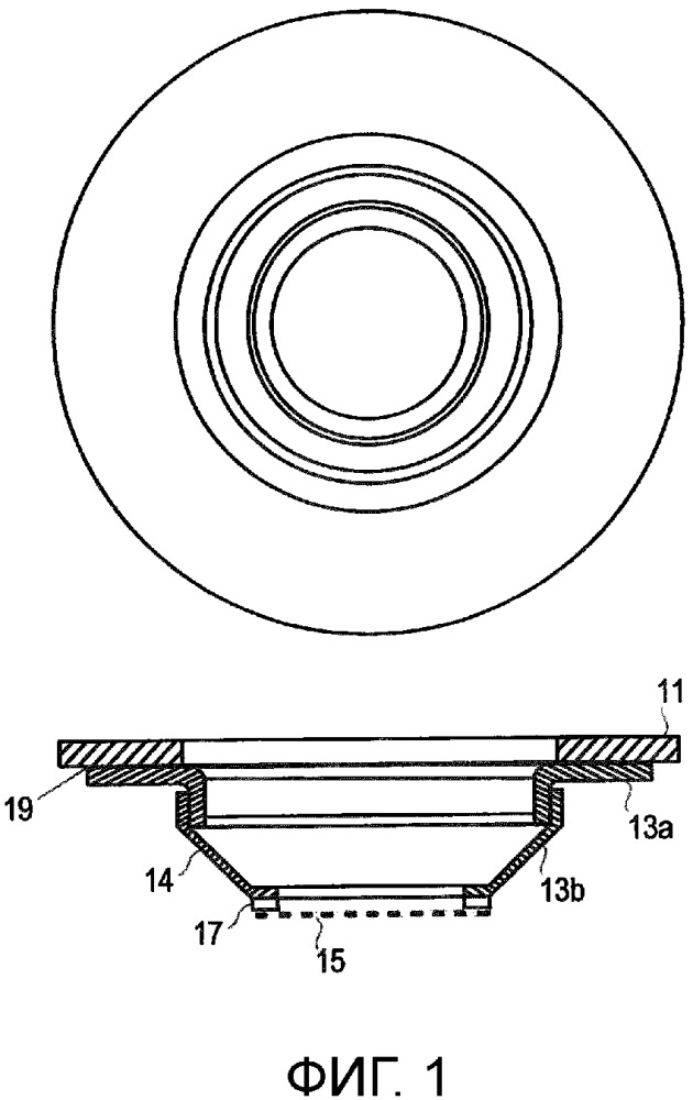 Комплект для использования в приборе для создания жидких капель
