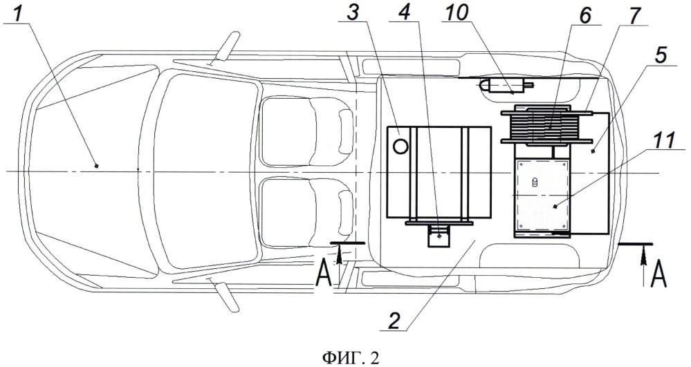 Способ осуществления мобильной топливной заправки автотранспортных средств и мобильный топливозаправщик
