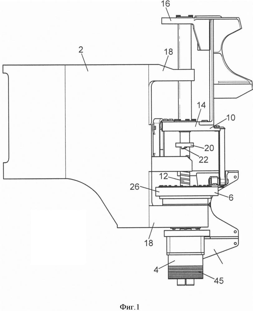 Моторизованное устройство открывания и/или закрывания двери летательного аппарата