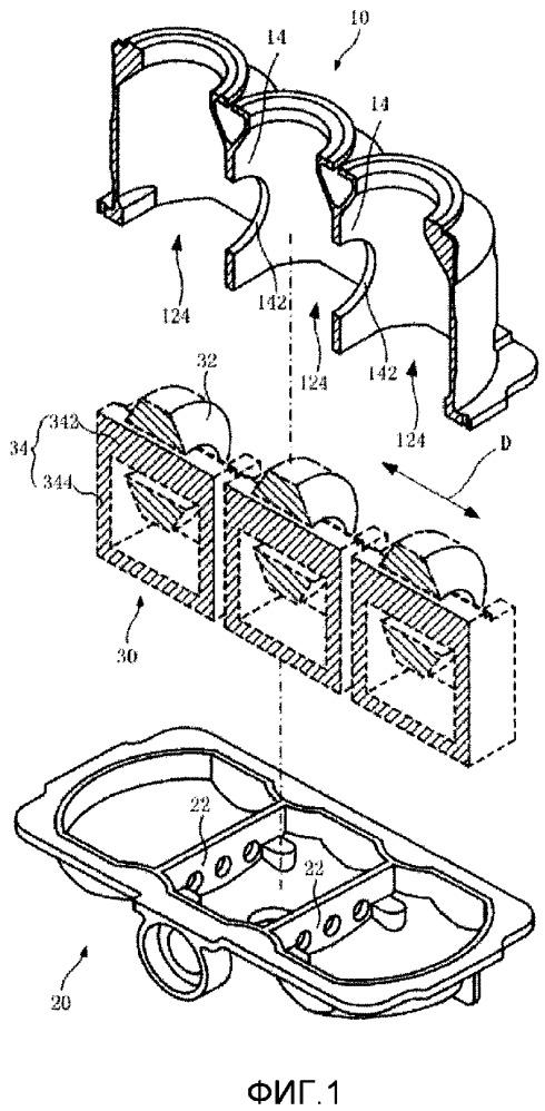 Ограждение для трансформатора напряжения и соответствующий трансформатор напряжения