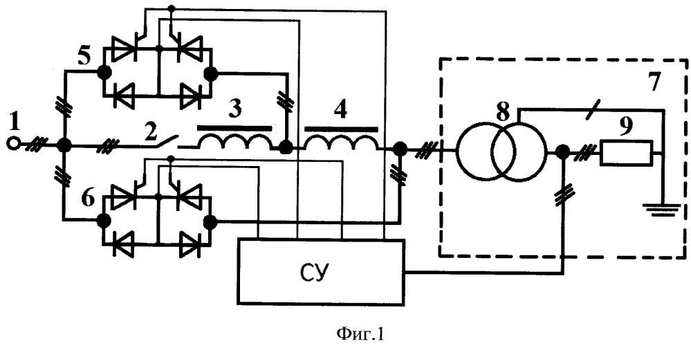 Способ управления пускорегулирующим устройством силового трансформатора