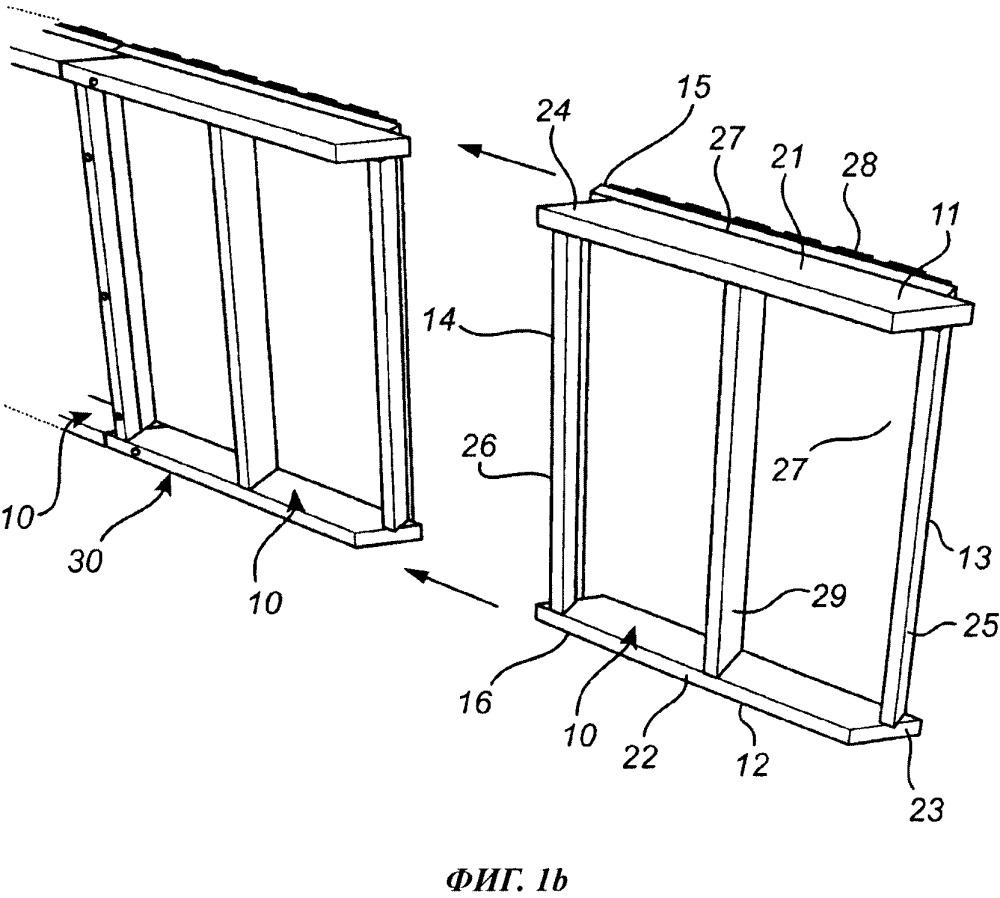Стеновой элемент, стеновая секция из таких элементов и способ ее сборки