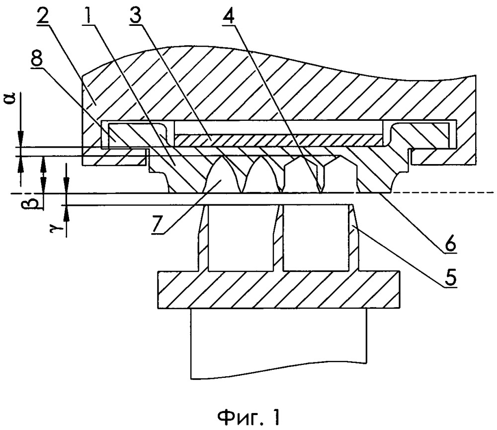 Луночные уплотнения паровой турбины