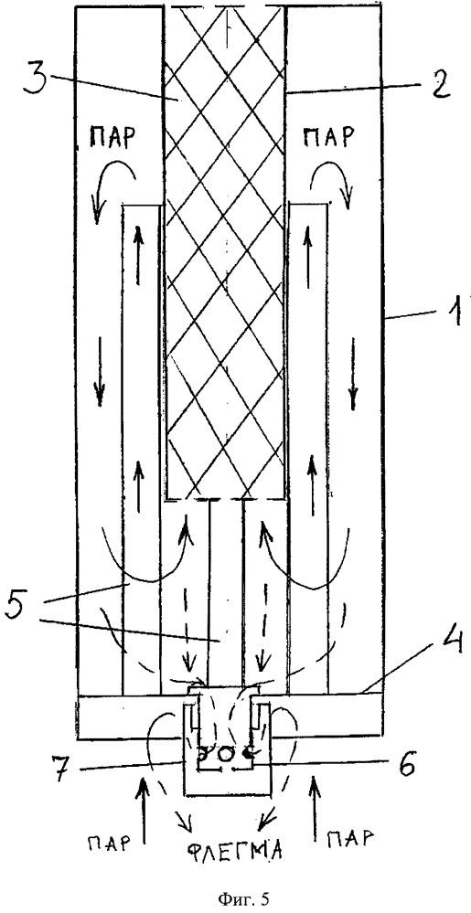 Ректификационная колонна и способ очистки спирта с ее применением