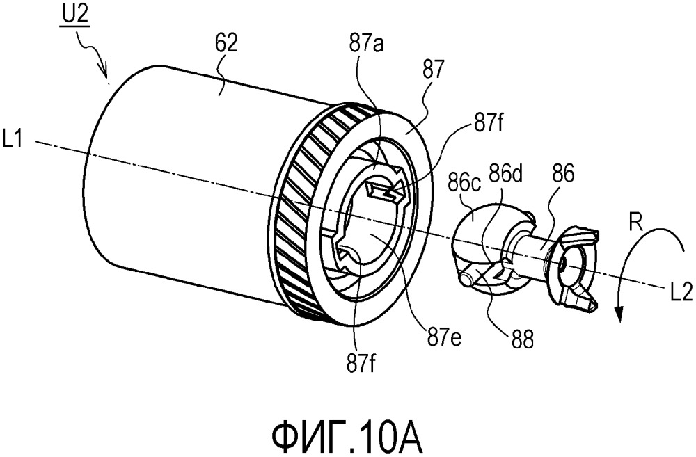 Блок цилиндра барабана, способ прикрепления связующего элемента и блок барабана
