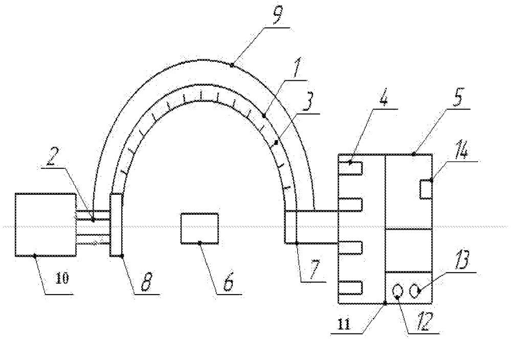 Установка для исследования материалов и растворов методом объемных индикатрис светорассеяния
