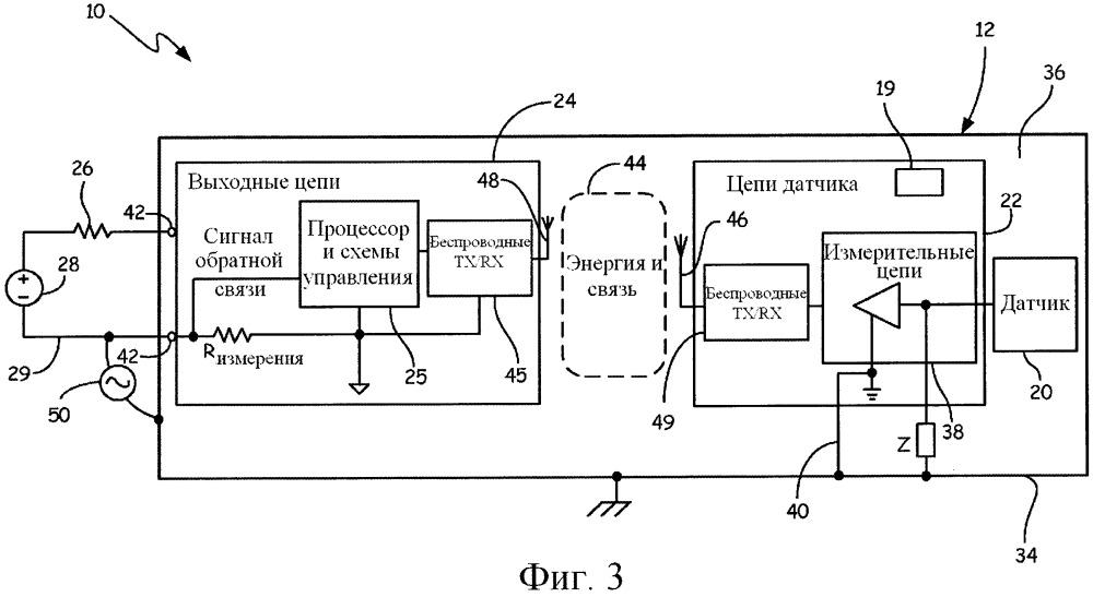 Беспроводный интерфейс в передатчике
