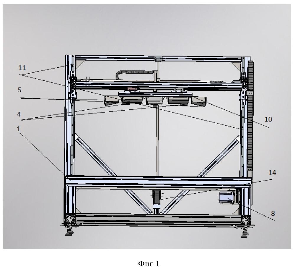 Устройство для записи и цифровой обработки изображений буровых кернов