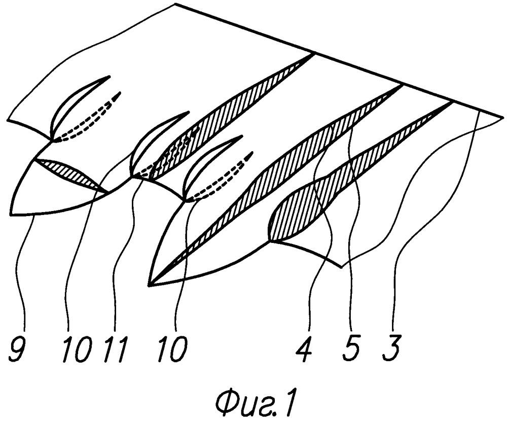 Аэродинамическая поверхность и планер летательного аппарата