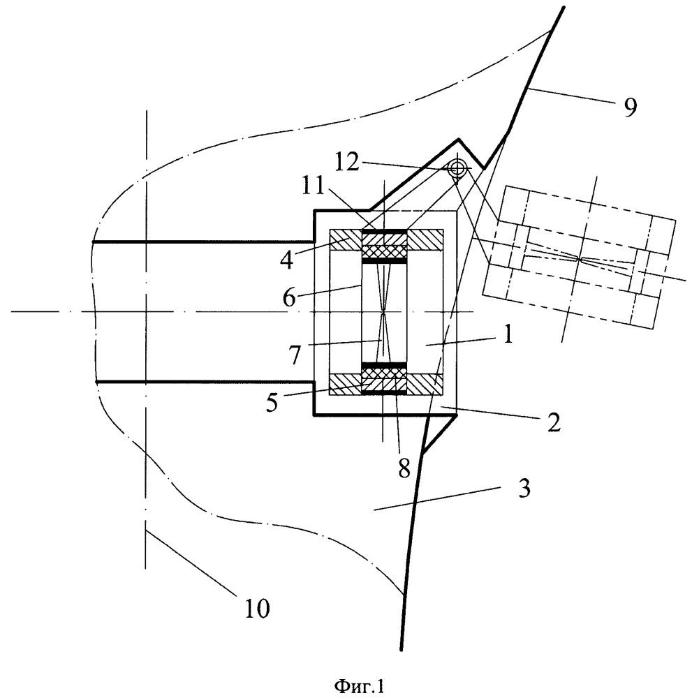 Дополнительное пропульсивное устройство судна, совмещенное с подруливающим устройством