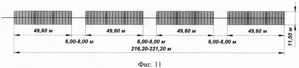 Способ транспортировки табельного имущества наплавного железнодорожного моста-ленты под поездную нагрузку по схеме сборки военно-фронтовая, военно-тыловая (млж-вф-вт) по воде