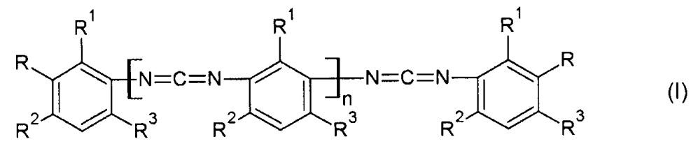 Новые карбодиимиды с концевыми мочевинными и/или уретановыми группами, способ их получения и их применение