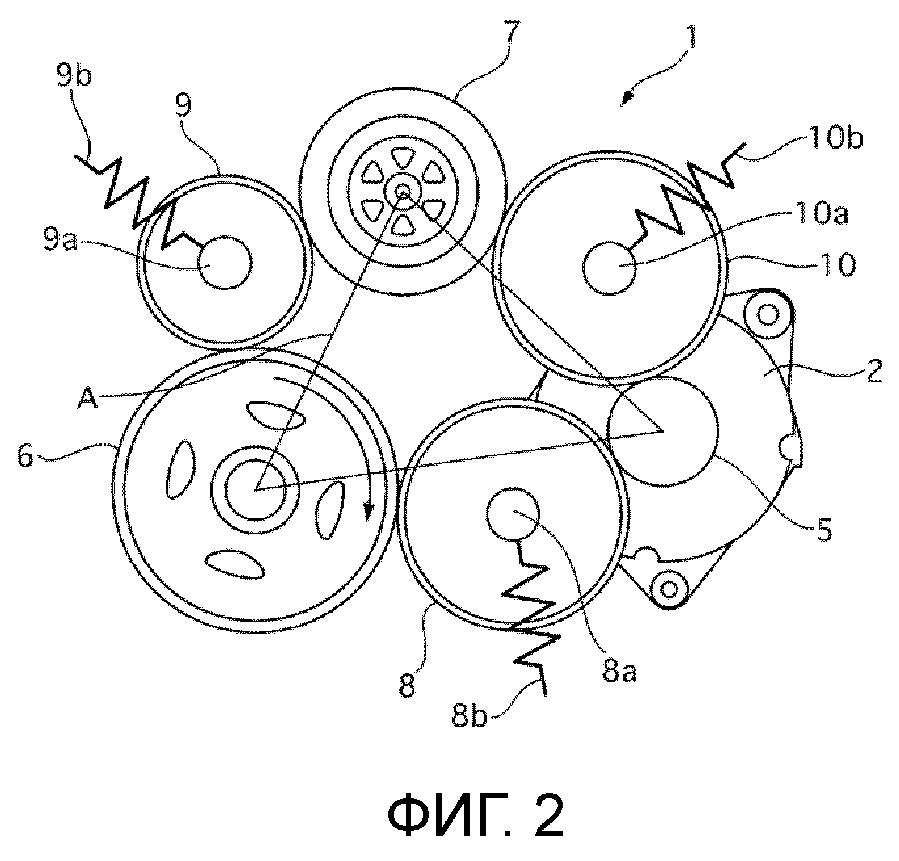 Устройство привода вспомогательного механизма для транспортного средства