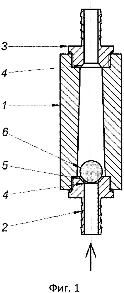 Энергонезависимый защитный клапан для дрейфовой камеры, работающей в вакууме