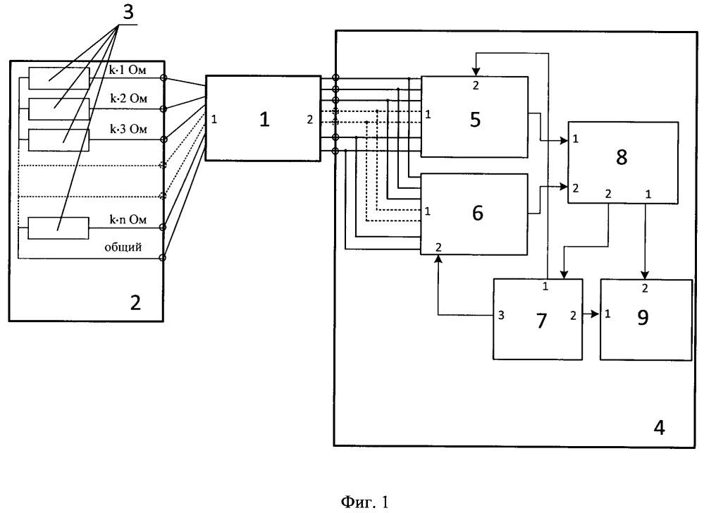 Устройство для определения номера жилы кабеля