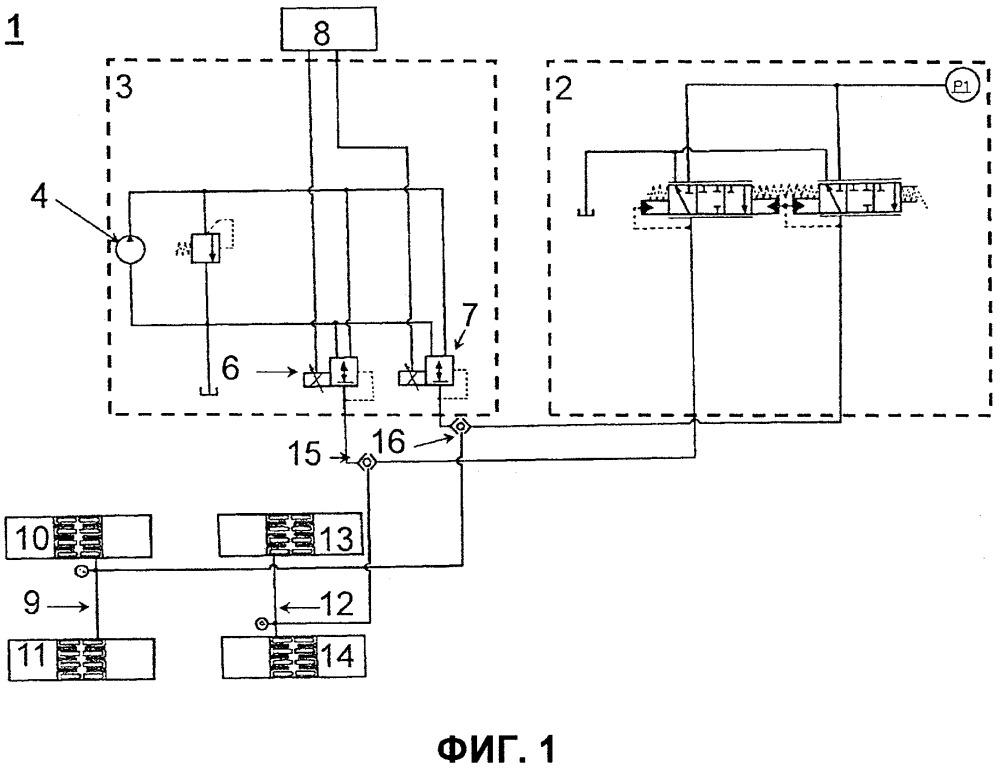 Тормозное устройство для рабочих машин и способ приведения в действие такого тормозного устройства
