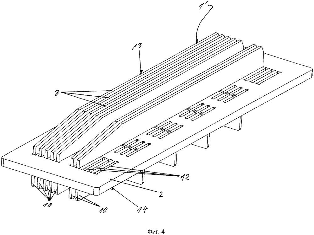 Гарнитура для механической обработки, прежде всего размола, суспендированного волокнистого материала