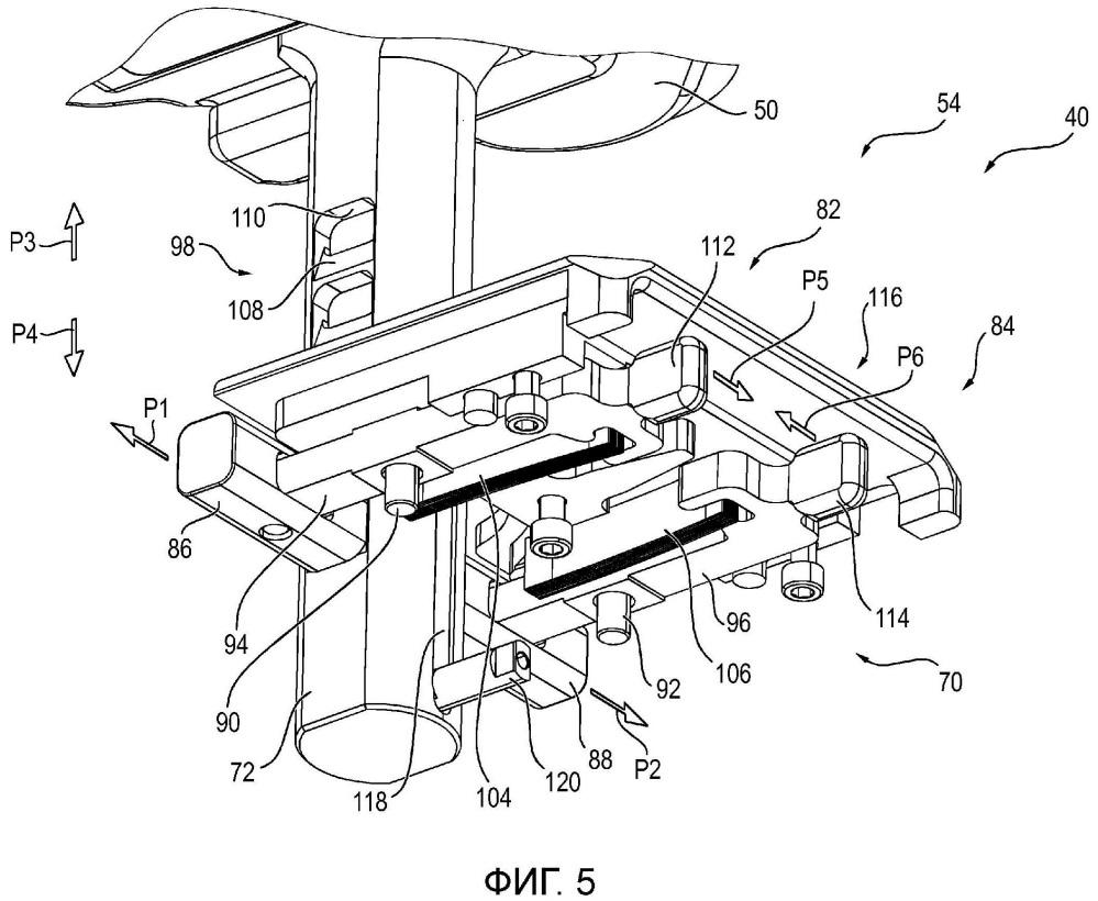 Блок для укладывания пациента для устройства для укладывания подвергающегося рентгенологическому исследованию пациента во время операции